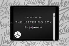 Lettering Box - Procreate Brush set by Angelo Konofaos on @creativemarket
