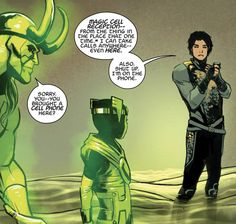 Loki: Agent of Asgard (Only Loki would have the nerve to tell Loki to shut up. <3)