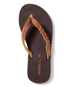 Take a look at this Cog Little Sugar Shack Flip-Flop by O'Neill on #zulily today!