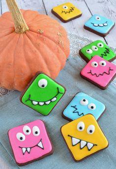 Lieve monster koekjes - Laura's Bakery