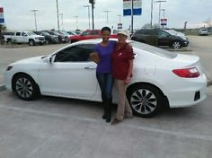 Courtney Gilmore, Reporter for KPRC  channel 2 news with her 2013 Honda Accord! Thanks Cathy Kay!