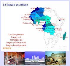 En el blog Français pour les 4º ESO encontré este material, que es muy útil para reflejar lo que hemos visto en clase acerca de los países que hablan francés como lengua oficial o educativa. Pinche…
