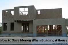 Here are 3 practical tips to help you to save money when building a house. These are easy ways you can save hundreds to thousands on your costs.