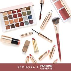 Now available for purchase: the Sephora + Pantone Universe 2015 Color Of The Year collection, featuring Marsala. #SephoraPantone #TheNewNeutral