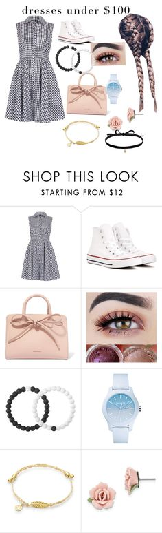 """""""Cute Dorothy inspired outfit"""" by anaballerina ❤ liked on Polyvore featuring Izabel London, Converse, Mansur Gavriel, Lokai, Lacoste, 1928 and Joomi Lim"""