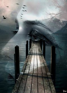 """showing you the way .. reposted from: crescentmoon06: """" The Road to your Soul… by =viaviolet """""""