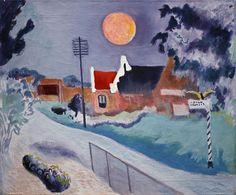 Warffum met rode maan, van Ekke Abel Kleima