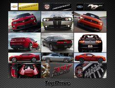Camaro x Challenger x Mustang