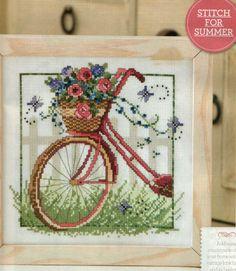 Voici un joli vélo fleuri au point de croix avec ses grilles gratuites Et voici la grille gratuite du vélo fleuri au point de croix Bonne broderie et merci pour vos commentaires qui font toujours plaisir... N.B Malgré que je vous ai tout expliqué dans...