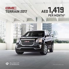 Al Ghandi Auto Assume Command in the GMC Terrain 2017 only AED 1,419/month  At Al Ghandi Auto, assume command in the GMC Terrain 2017 for only AED 1,419 per month. Offer includes: Free Registration, Lifetime Warranty, 3 years/60,000 KM routine service and AED 10,000 Down Payment Assitance. Call 04-5190079 for more info! T's & C's apply! Locations (Dubai... #AlGhandi #AlGhandiAuto #GMC #GMCTerrain #GMC #NewCars/SUVs #Wheels #UAEdeals #DubaiOffers #OffersUAE