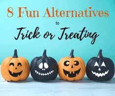 great ideas for kids who don't like to trick or treat