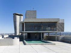 Cobertura  -  Le Corbusier   Unite d´Habitation / Unidad Habitacional…