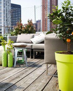 Shake My Blog   Sélection de pots colorés pour le balcon