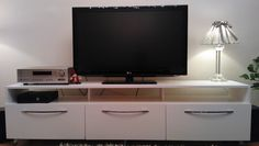 Tv stand. When you make it yourself you get what you want ;)
