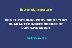 10 Reasons Why Indian Supreme Court is Independent Directive Principles, Chief Justice Of India, Law Notes, Criminal Procedure, Indian Constitution, Court Judge, Public Service, Supreme Court