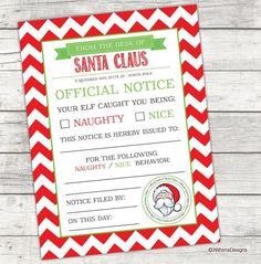In this free printable santa claus letter santa warns the child in this free printable santa claus letter santa warns the child that they are on the naughty list and offers suggestions about how to get onto th spiritdancerdesigns Image collections