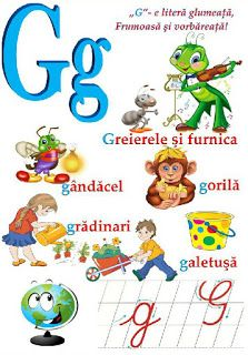 Creionasul cel istet si prietenii: Alfabetul (cu ilustratii) COD 04 Early Education, Kids Education, Learning The Alphabet, School Lessons, Learn English, Kids And Parenting, Montessori, Kindergarten, Preschool