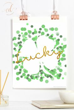 Free lucky print for St. Patrick's Day