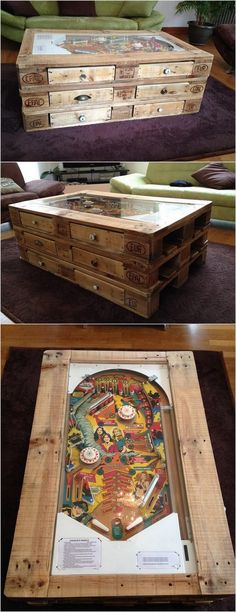 Artistic Wood Pallet Table