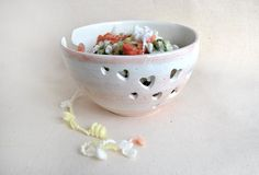 Hey, I found this really awesome Etsy listing at https://www.etsy.com/listing/180219672/ceramic-yarn-bowl-knitting-bowl-hand
