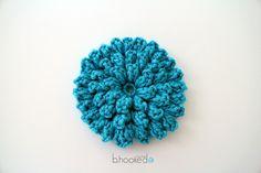Popcorn Stitch Flower