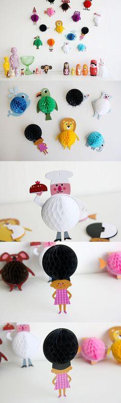 [텐바이텐] ingela Honeycomb Parade 모빌(3type). Projects For Kids, Diy For Kids, Crafts For Kids, Diy And Crafts, Arts And Crafts, 6th Grade Art, Honeycomb, Art Education, Paper Flowers