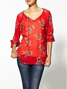 Hive & Honey Floral Burst Blouse | Piperlime $47