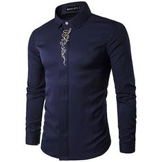 Cheap camisa brand, Buy Quality camisa fashion directly from China male clothes Suppliers: Men Long Sleeve Shirt 2017 New Summer Fashion Brand Male Clothes Slim Fit Shirt embroidery Men Plaid Cotton Shirt Casual camisas Men's Fashion Brands, Men Fashion, Fashion Site, Fashion Design, Style Fashion, Luxury Fashion, Shirt Embroidery, Gold Embroidery, Embroidery Fashion