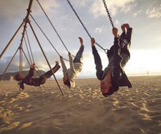 nothing reminds me more of being a kid than swings