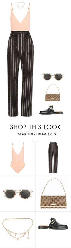 """i wanna dance with my baby"" by andy993011 ❤ liked on Polyvore featuring FELLA, Balenciaga, Issey Miyake, Gucci, Chanel and Givenchy"