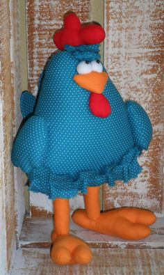 Confeccionada em tricoline 100% algodão    Altura - 43 cm  Sentada - 32cm    Não fica em pé sem apoio