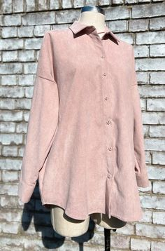 Online Thrift, Collection Services, Fabric Covered, Slow Fashion, Corduroy, Zara, Beige, Boutique, Coat