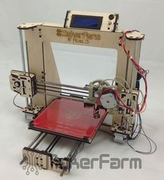 Prusa8 i3 kit is the best 3d printer kit available for sale with makerfarm. The Maker Farm Laser Cut Prusa i3 is the easiest and quickest printer to build out of any printer we have ever used.It is right choice for beginners and professionals. http://www.3dprintersonlinestore.com/makerfarm/prusa8-i3-kit
