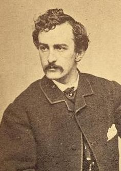 Celebrated actor John Wilkes Booth (b. 1838) assassinated President Lincoln and led the conspiracy meant to topple the U.S. government; he was shot and killed April 26, 1865, by Sergeant Boston Corbett at Garrett's farm near Port Royal, Virginia