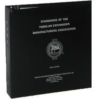 Standards of the Tubular Exchanger Manufacturers Association (TEMA) Ninth (9th) Edition, November 2007, Hardcover, 296 pages http://technospub.com.br/tema-standards-9th-edition-november-2007.html