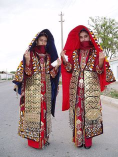Turkmen Bridesmaids | Photographer Unknown