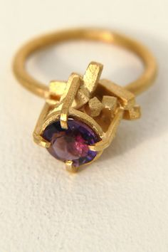 Jane Gowans- Limited Edition Amethyst Ring