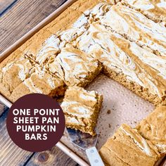 One Point Sheet Pan Pumpkin Bars - Pound Dropper - weight watchers - Cheesecake Paleo, Pumpkin Cheesecake Bars, Pumpkin Bars, Pumpkin Bread, Pumpkin Spice, Pumpkin Pancakes, Ww Desserts, Healthy Desserts, Dessert Recipes