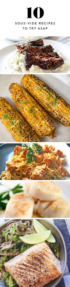 10 Sous-Vide Recipes to Try ASAP via @PureWow