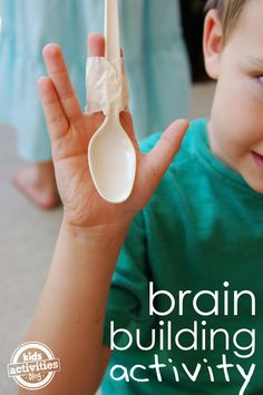 The kids and I have recently begun exploring our brains - how it works, the tricks we can play on it, ways we can encourage it to adapt and grow to face ne Elementary Activities, Learning Together Sensory Activities, Educational Activities, Toddler Activities, Preschool Activities, Cognitive Activities, Montessori Toddler, Motor Activities, Physical Activities, Learning Tips