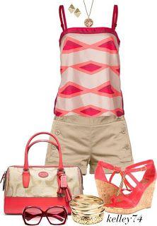 cute outfits. #summer fashion #womens fashion