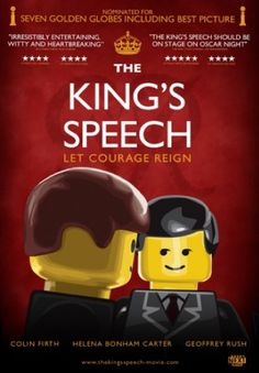 Lego Movie Poster: The King's Speech