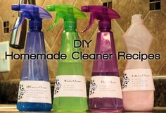 #DIY Household Cleaner #Recipes