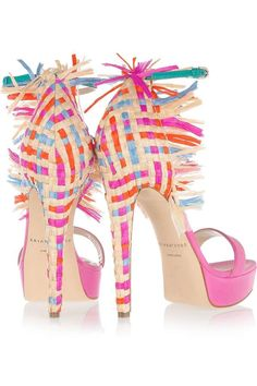 Summer heels by Brian Atwood #heels/Dorothy Johnson
