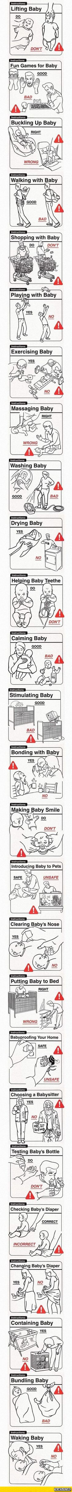 This Is A Classic: Baby Do's and Dont's