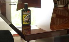how to remove scratches and restore high gloss polyurethane finish... need to do dining room table