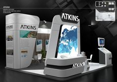 Exhibition Stand on Behance Trade Show Design, Pop Design, Display Design, Stage Design, Exhibition Stall, Exhibition Stand Design, Exhibition Display, Exibition Design, Counter Design