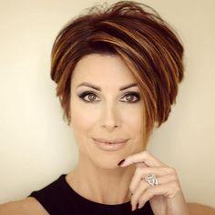 Dominique Sachse Short Hair |