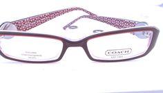 Cute purple frames from Coach
