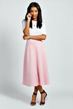 Arianna Full Circle Midi Skirt